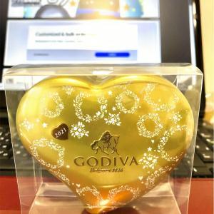 【ゴディバ】セブンイレブン限定品2021年のバレンタイン。5粒入り1020円。