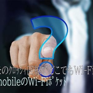 【Wi-Fiポケット】ドコモクロッシィのC mobileを契約する前に理解しよう。