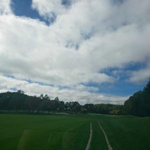 秋の北海道ゴルフ 恵庭