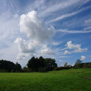 秋の北海道ゴルフ 早来カントリー