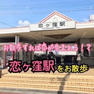 【多摩駅めぐり】恋ヶ窪駅(西武国分寺線)<117/160>