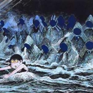 【三重】海に出る防空頭巾の集団亡霊