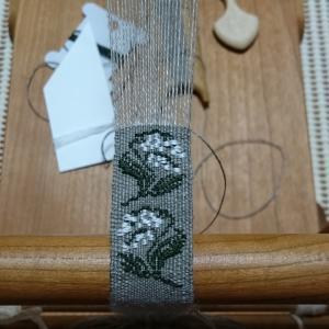 リボン織り,模様へ