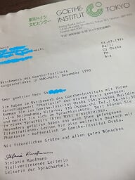 ⑮Sechs Unterschriften beeden das zähe Ringen - 6つの署名が粘り強い格闘を終わらせる - 1990.9.13