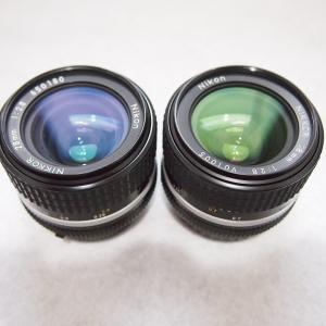 AI Nikkor 28mm f/2.8S スパーインテグレーテッドコーティング比較