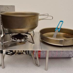 キャンプやハイキングに使えるおすすめの調理器具