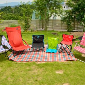 キャンプの椅子の選び方と我が家のチェアの使用頻度ランキング