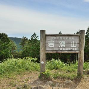 岩湧山の「いわわきの道」と「きゅうざかの道」登山道や駐車場を紹介