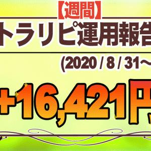 【週間】トラリピ運用報告(2020年8月31~9月4)