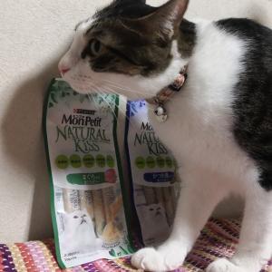 猫大満足のおやつ♪モンプチ『クリスピーキッス』『ナチュラルキッス』