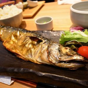 岡山市北区駅前町の鯖の塩焼き定食(さば料理専門店SABAR+岡山店)
