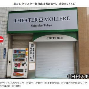 新宿シアターモリエールでの感染クラスター発生は杜撰な運営が主な原因!