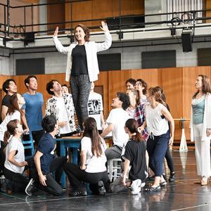 『マンマ・ミーア!』福岡公演の稽古が佳境を迎えています