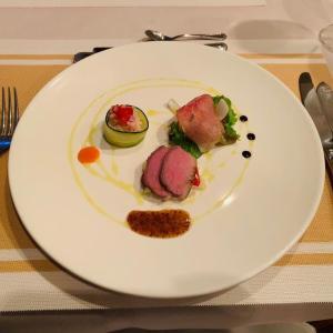 長崎県雲仙市 シャトープラージュのディナー