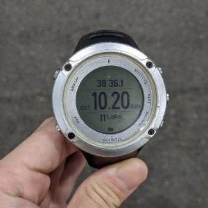 公園グルグルペース走10km《3回目》