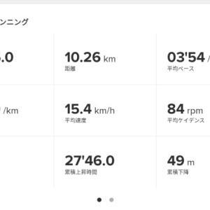 公園グルグルペース走10km《7回目》