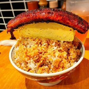 大阪福島にある行列店!いづも大阪福島で超大盛なバズッてるランチ「そびえる鰻玉丼」を注文したら想像以上に超大盛で美味しかった件