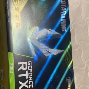 RTX3080、届きました。