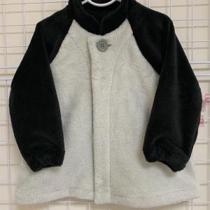 【無料型紙】ラグランスリーブジャケットの作り方