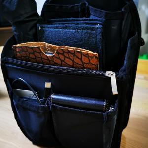 折り畳み傘や長財布もきれいに収納!!トートバッグに超おススメのバッグインバッグ