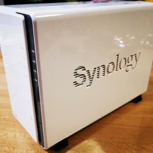 SynologyのNAS DS-220Jを購入しました