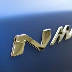 NMAX マットブルー 外装交換準備~エンブレム・ステッカー取り付け