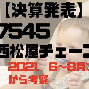 【月次】7545西松屋チェーン【2022年7.8月度】