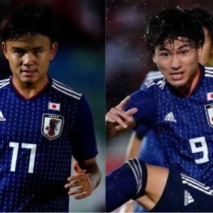 【サッカー日本代表】新10番は...背番号発表!!!