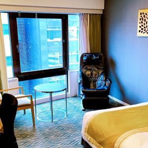【宿泊記】ホテルサードニクス東京 / セミダブルルーム「シティホテル並!マッサージチェアもある広めのお部屋と充実のアメニティ」