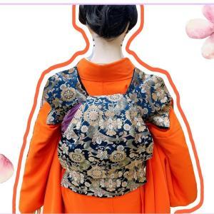 【着付け】美しい着物の着せ方 帯の巻き方(ふくら雀)