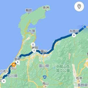 【日本一周中】新潟を北上しています