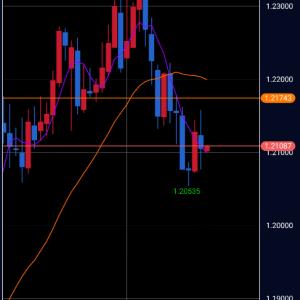 FX 1月25日 今日のポンド円 相場分析