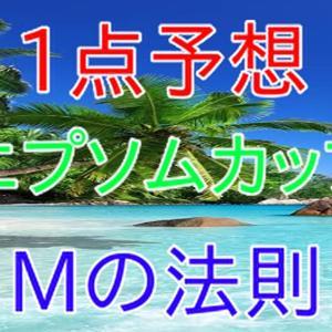 エプソムカップ & 函館スプリントS 1点予想 Mの法則