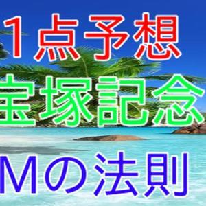 宝塚記念 1点予想 Mの法則 & みんなで当てよう2000円でWIN5
