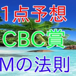 CBC賞&ラジオNIKKEI賞 1点予想 Mの法則