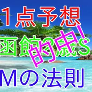 函館2歳ステークス 1点予想 Mの法則