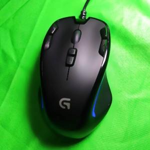 初めてのゲーミングマウスにおすすめ「ロジクールG300Sr」