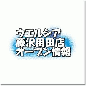 ウエルシア藤沢用田店新規オープン情報!場所・アクセスやチラシ・アルバイト情報
