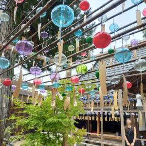【京都の風鈴寺】正寿院を参拝。無数の風鈴とハート形の窓、綺麗な天井画など見どころがたくさん