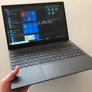 Office搭載  NEC 2020夏モデル Lavie Pro Mobileが高性能!テレワーク最適,軽い,持ち運びが楽な13.3型パソコン!