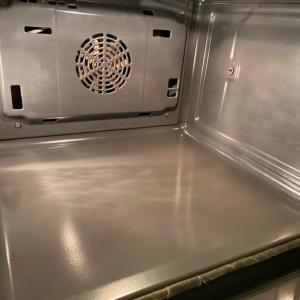 ドイツでのオーブン掃除(昨日の結果…)