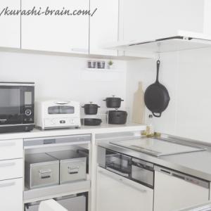 【キッチン公開】収納の見直しで引き出しを空っぽにした