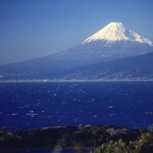 西伊豆から見た富士山