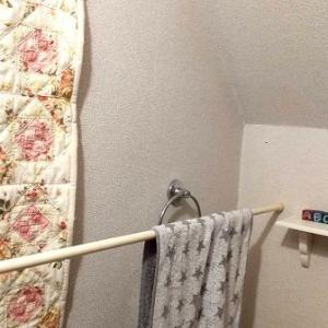 トイレの壁にカビが付くので