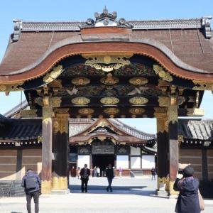 本日大河ドラマ「晴天を衝け」で紹介された「二条城」