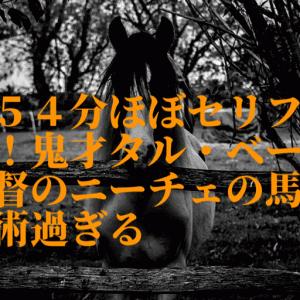 154分ほぼセリフなし!鬼才タル・ベーラ監督のニーチェの馬が芸術過ぎる