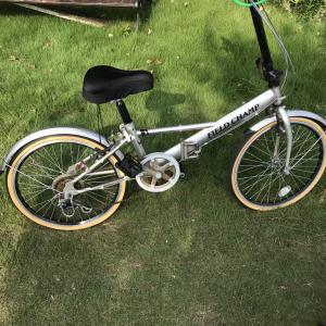 ネットオークションで折り畳み自転車を処分  Folding bicycles sold though net auction