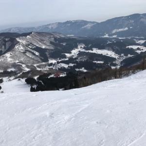 年末スキー    Ski at Hachikita