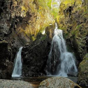 山乗渓谷で不動滝を見てきました。 ~大河ドラマ「武蔵 MUSASHI」のロケ地になったダイナミックな渓谷~