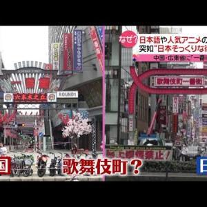 まるで新宿?中国にそっくり街が出現、なぜ(2020年9月29日放送「news every.」より)